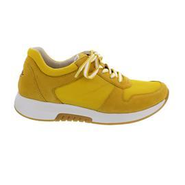 Rollingsoft Sneaker, Mesh Model/ Samtch., yellow, Wechselfußbett 46.946.41
