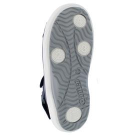 Ganter Genda, Aktiv Vario Sandale, Softnubuk-Leder,  darkblue, Kork-Fußbett, Weite G 204012-3500