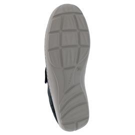 Waldläufer Henni-Soft, Ortho-Tritt, Denver Abrilstretch Foil/ Stretch, marine, Weite H 496H31-304-217