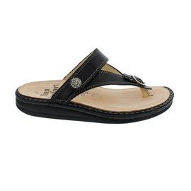 Finn Comfort Alexandria-S, Pantolette, Nappaseda (Glattleder), schwarz, 81524-014099