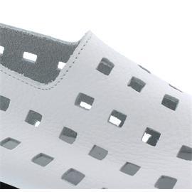 Arche Lambko, Slipper, Reißverschluss (Ferse), Vachette fast (Glattleder), Blanc (weiß)