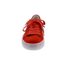 Gabor Sneaker, Samtchev/ Sportylamm, koralle/midnight, Wechselfußbett 43.360.15