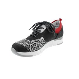 Waldläufer H-Petra Sneaker, Denver / Stretch (Nubuk komb.), grau komb., Weite H 908H02-400-829