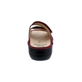 Finn Comfort Kos, Pantolette, Shibu (Nubukleder bedruckt), pomodore,  2554-657420