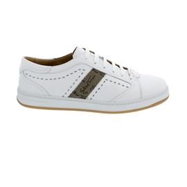 Galizio Torresi Sneaker, Vitello (Glattleder), bianco, Wechselfußbett 441308