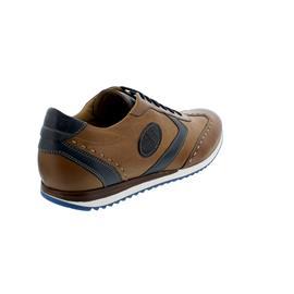 Galizio Torresi Sneaker, Foul. (Glattleder), marron/ blu/ ind., Wechselfußbett 343464
