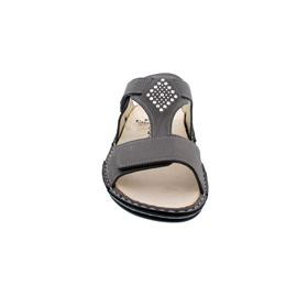 Finn Comfort Verin, Pantolette, Nubuksoft, mouse, Swarovski-Elements 2806-605421