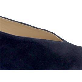 Hassia Florenz Pumps, Samtziege-Leder, blue, Vario-Fussbett, Weite H 304933-3200