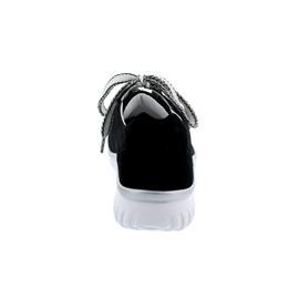 Semler Lena, Sneaker, Strick/Samt-Chevro, schwarz, Vario-Fussbett, Weite H L5055-450-001