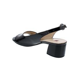 Högl Sandalette, Softlack-Leder, schwarz, 102114-0100