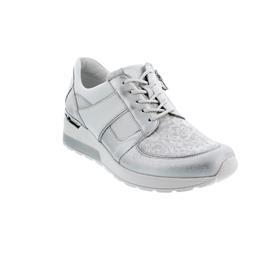 Waldläufer H-Clara, Sneaker, Bufa Jasminstretch Mem., silber/weiss, Weite H 939H03-500-989