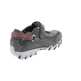 Allrounder Niro, Sneaker, Klettverschluss, C. Suede 52/ Open Mesh 08, Piomba/ Piomba N819