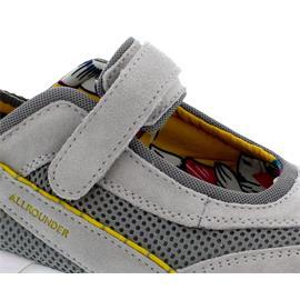 Allrounder Niro, Sneaker, Klettverschluss, C. Suede 05/  Sandwich Mesh 80, Ice Grey/ Loft N819