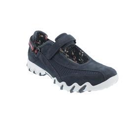 Allrounder Niro, Sneaker, Klettverschluss, C. Suede 55/  Sandwich Mesh 95, Ocean/ Ocean N819