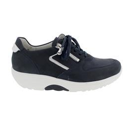 Waldläufer H-Sonja, Dynamic-Sohle, Sneaker, Nubuk komb., marine silber, Weite H 999004-302-808