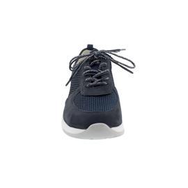 Waldläufer H-Petra, Sneaker, Denver/ Sportnet Bronx, marine blau notte, Weite H 908003-308-217