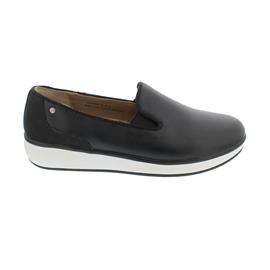 Joya Jasmine Black, Slipper, Glatt- / Nubukleder,  Air-Sohle, Kategorie Emotion, 848cas