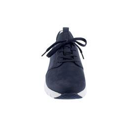 Rollingsoft Sneaker, Nubuk/ Lycra, blue Wechselfußbett 46.936.36
