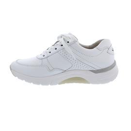 Rollingsoft Sneaker, Chevron (Glattleder), weiss Wechselfußbett 46.938.50