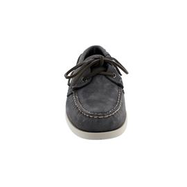 Sebago Docksides, Suede (Veloursleder), dark-grey, Men 7000G90-917