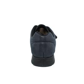Fischer Damen-Bequem-Halbschuh, Stretchmaterial, Wechselfußbett, Weite H, schwarz 18402-222