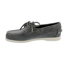Sebago Docksides, Crazy Horse (Fettleder), dark grey, Women 7001E40-917