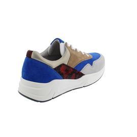 Gabor Florenz, Sneaker, Velour/Nappa/Pyt., Weite G, royal/beige/red k., 46.305.99