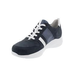 Waldläufer H-Anita Sneaker, Denver/ Buthan Bufa Foil,  marine silber, Weite H 740002-400-808