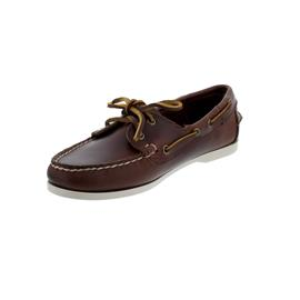 Sebago Docksides, Waxy Leather (Glattleder), brown, Women 71111HW-900