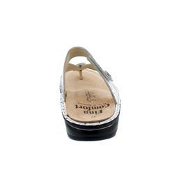 Finn Comfort Alexandria-S, Pantolette, Vangogh (Glattleder), weiss, 81524-684000