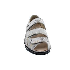 Finn Comfort Ischia, Sandale, Pebble (bedr. Nubukleder), Stone (hellgrau) 2106-678150