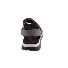 Rollingsoft Sandale, Nubuk / Lycra, Leinen / Fumo, Fußbett 46.819.33