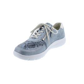 Waldläufer H-Leonie, Sneaker, Bronx Kobra Bufa, sky silber, Weite H 796002-300-267