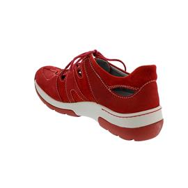 Wolky Nortec Halbschuh, Antique nubuck-suede, red  summer, Schnürung 0302811-570