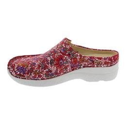 Wolky Seamy-Slide, Clog, Mosaic suede, Red summer, 0625042-570