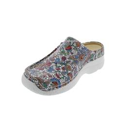 Wolky Seamy-Slide, Clog, Mosaic suede, Taupe summer, 0625042-157