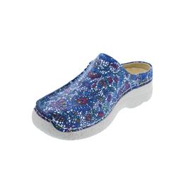 Wolky Seamy-Slide, Clog, Mosaic suede, Royal Blue, 0625042-865