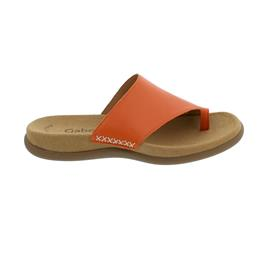 Gabor Pantolette, Lammnappa, orange, Best Fitting, Zehensteg 43.700.22