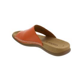 Gabor Pantolette, Lammnappa, orange, Best Fitting, Zehensteg 43.700.22