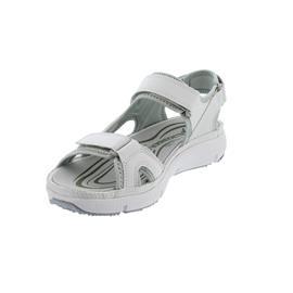 Allrounder ITS ME Sandale, Crystal 30, white,  Klettverschluss, Wechselfussbett AI005