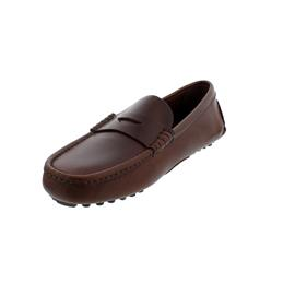 Sebago Russel, Full-Grain Leather (Glattleder), brown, Men 71113DW-900