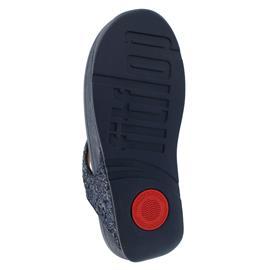 FitFlop Lulu Glitter Toe-Thongs, Midnight Navy X03-399