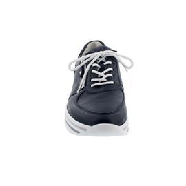 Waldläufer H-Lana, Sneaker, Hirschleder (Glattleder), notte / blue, Weite H 758001-999-549