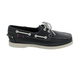 Sebago Docksides, Full-Grain Leather, Blue Navy, Women 7000530-908