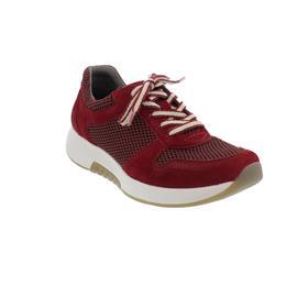 Rollingsoft Sneaker, Mesh Oval / Samtchevreau, dark-opera, Wechselfußbett 56.946.48