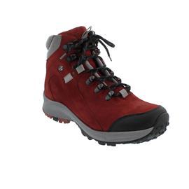 Waldläufer H-Emma, Outdoor-/Wanderstiefel, Gummi / Nubuk, schwarz/rubin/silber, Weite H 949971