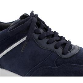 Rollingsoft Sneaker, Dream/Chev./Colombo (Nubukleder), marine  /weiss/night, Wechselfußbett 56.948.36