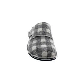 Finn Comfort Andermatt, Karo-Wollfilz, Grey, Klettverschluss 6550-691218