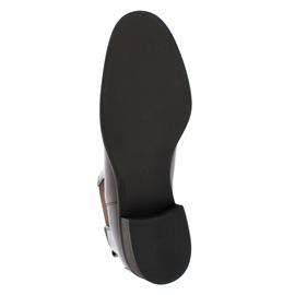 Gabor Chelsea Boot, Nappa Jamaika (Glattleder), sattel  Effekt (braun), Lederfutter 51.640.20