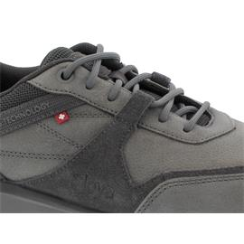Joya Tony II Grey, Halbschuh. Nubuck Leather/ Velour Leather, Air-Sohle 199spo
